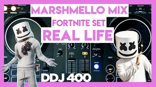 Marshmello Mix Fortnite Live Concert in REAL LIFE | DDJ 400