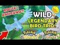 How to Catch ARTICUNO, ZAPDOS & MOLTRES In the WILD! Pokemon Let's Go P/E Guide!