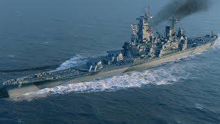 World of Warships - Georgia Tier 9 Premium USN Battleship Overview