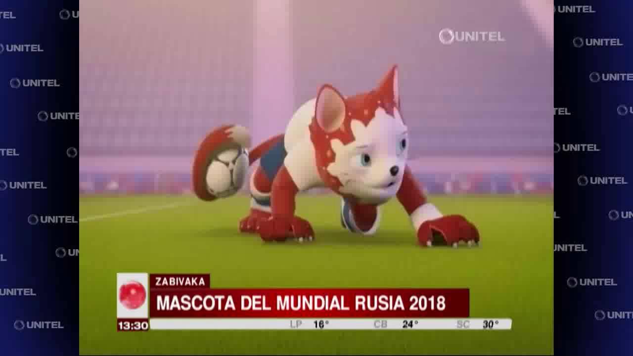 Zabivaka es la mascota y figura que representará a la Copa Mundial en el  2018 25fa1a163c2df