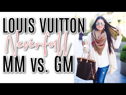 Louis Vuitton Neverfull Mm Vs Gm Youtube