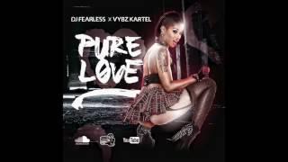 Gambar cover Vybz Kartel - Pure Love (Dancehall Mix 2017) 🖤