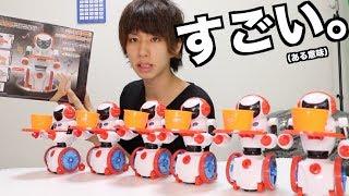 音に反応してモノを持ってきてくれるロボット(だと思ってた) thumbnail