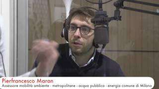 RadiocityMilano2016 Intervista Domenica 10 aprile Pierfrancesco Maran