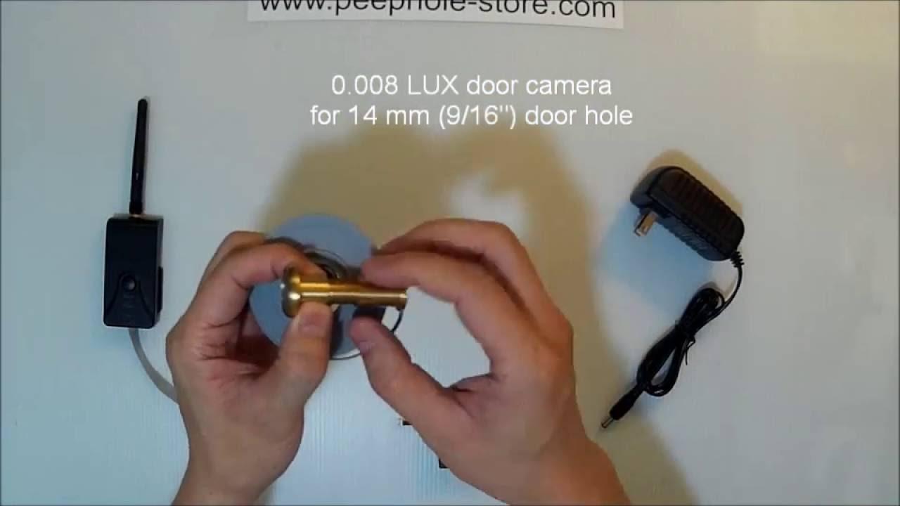 front door camera iphoneLow Cost  Easy DIY WiFi Door Camera for iPhone  Android