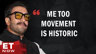 Ranveer Singh on 'Me Too' at India Economic Conclave | Exclusive