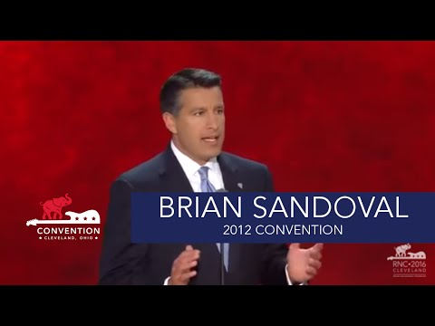 The Real American Story | Governor Brian Sandoval | 2012 Republican National Convention