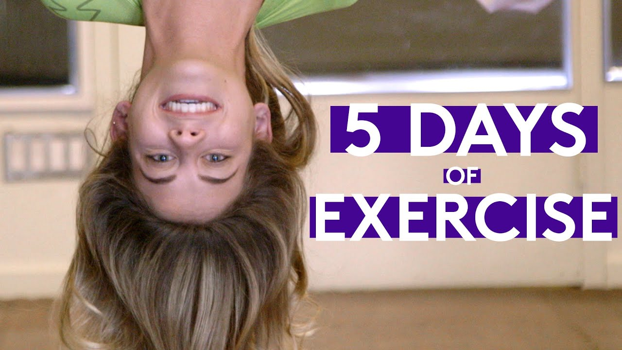 5 Days Straight Of Working Out | Try Living With Lucie ...