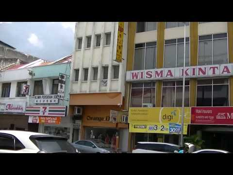 Yang Kalsom Road in Ipoh New Town & Almost Accident, 22 June 2017