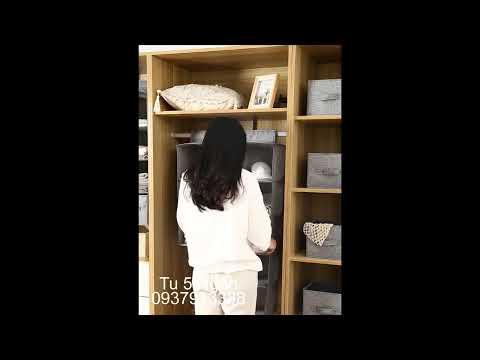 Tủ Vải. Túi Vải Đựng Quần Áo. Túi Vải Đựng Đồ 0937913388