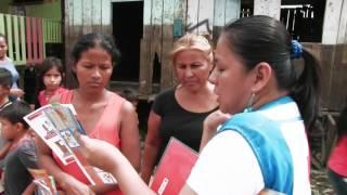 Operación de respuesta Inundaciones Loreto 2015