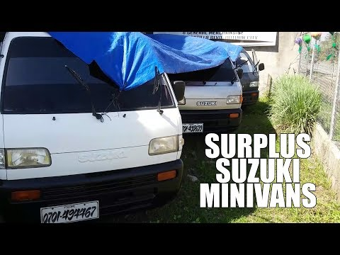 VLOG 01 – The Hunt for Surplus Suzuki Multicab Minivans