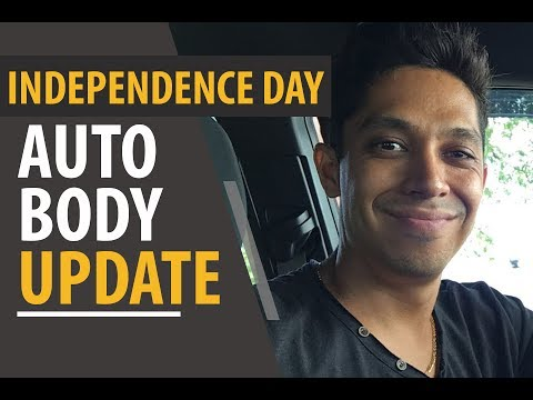 Independence Day Auto Body Update