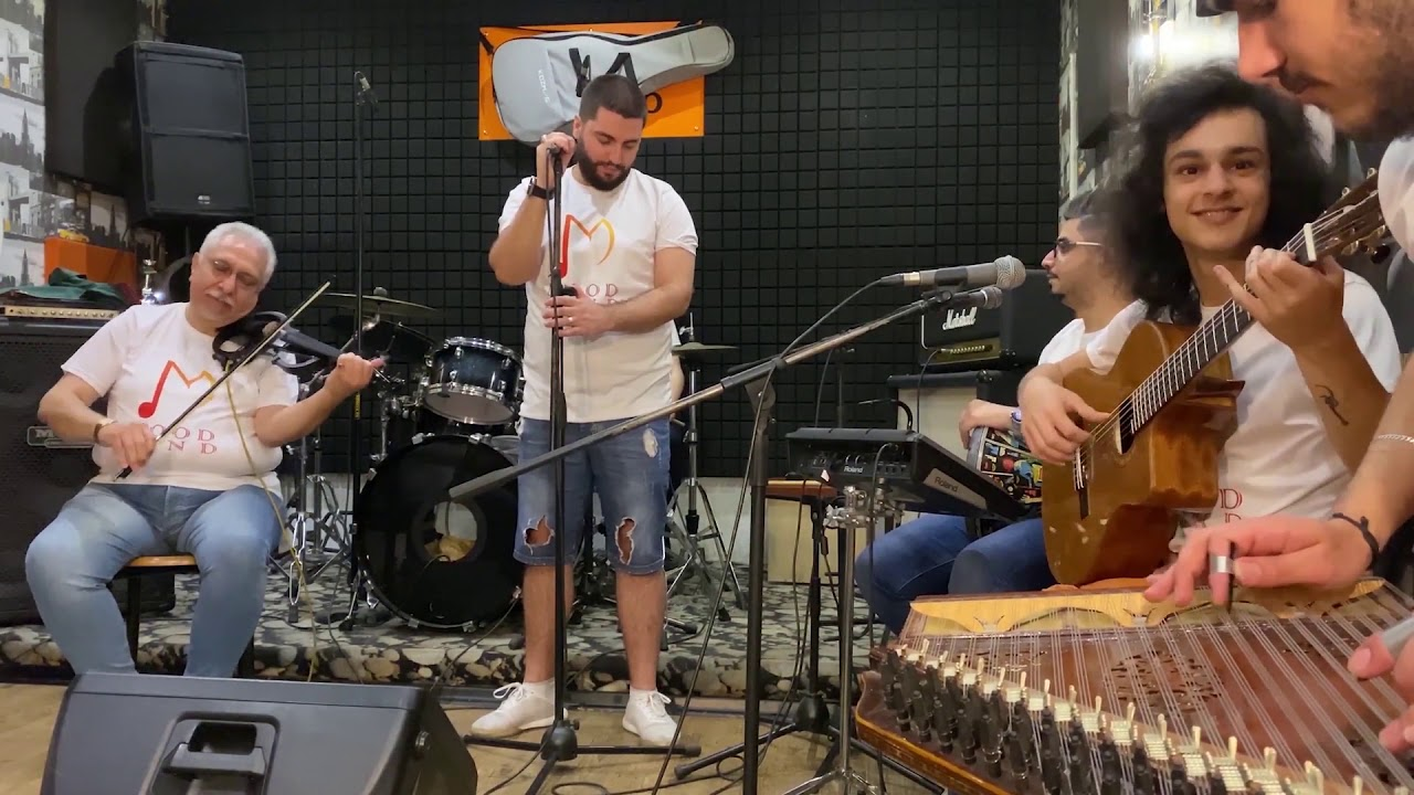 Mood Band | بيلا تشاو - انت معلم - يا طير - مشكلني | حفلة اونلاين