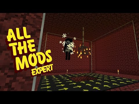 All The Mods Expert Mode - WITHER SKELETON FARM [E45] (Minecraft Expert Mod Pack)