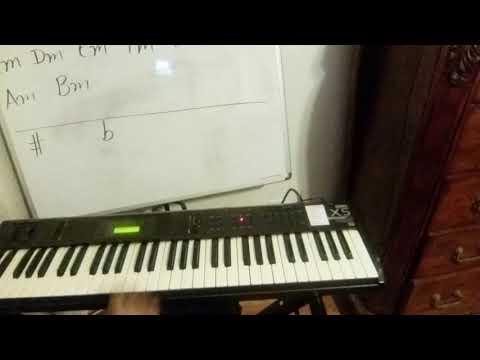 Minor Chords Cm Dm Em Fm Gm Am Bm Youtube
