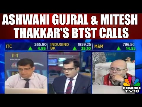 Closing Bell (9th Apr)   Ashwani Gujral & Mitesh Thakkar's BTST Calls   CNBC TV18