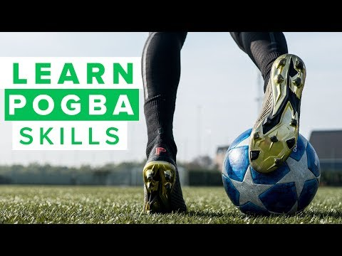 LEARN AWESOME POGBA SKILLS | Very flashy football skills