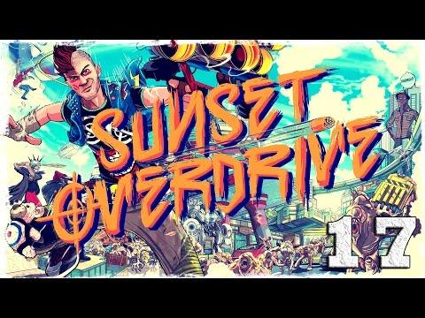 Смотреть прохождение игры [Xbox One] Sunset Overdrive. #17: Плавучий мусор.