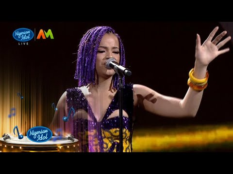 Top 8 Reveal: Beyonce – 'Right Now' – Nigerian Idol | Africa Magic | S6 | E9