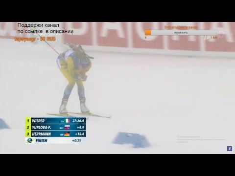 Чемпионат мира по биатлону 2019. Женщины. Масс-старт Прямая трансляция
