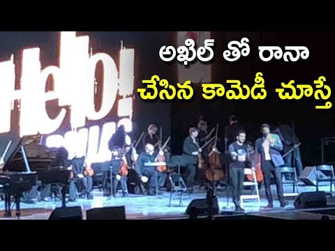 Akhil & Rana Daggubati Making Hilarious Fun @ Hello USA Promotion Tour | Akhil Akkineni, Rana