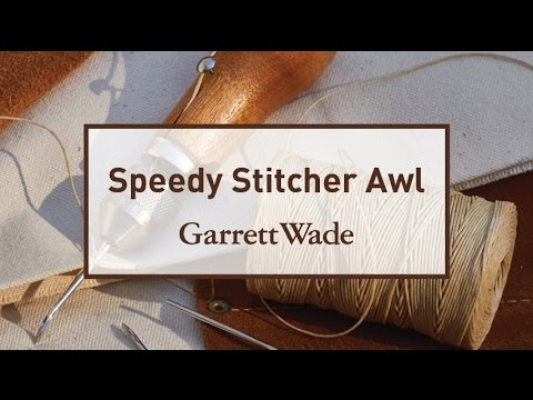 Speedy Stitcher Sewing Awl Tutorial