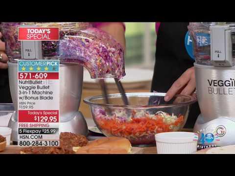 HSN | Kitchen Innovations Celebration featuring Veggie Bullet 07.31.2017 - 02 PM