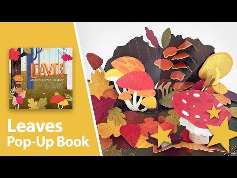 Leaves: An Autumn Pop-up Book by Yoojin Kim