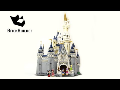 Lego Disney 71040 The Disney Castle - Lego Speed Build