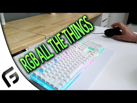 RGB EVERYWHERE - Rosewill K51 and M57 Review