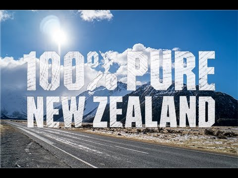 100% Pure New Zealand - South Island Road-trip in 4K