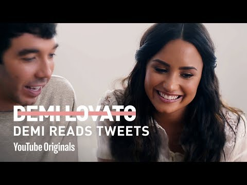 Demi Lovato Reads Tweets
