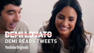 Demi Lovato Reads Tweets