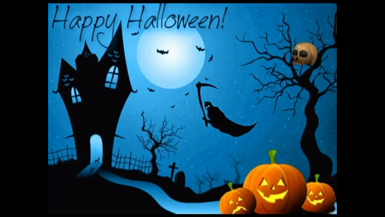 Happy Halloween Animated Wishesgreetingssmssayingsquotese Cardwallpaperswhatsapp Video