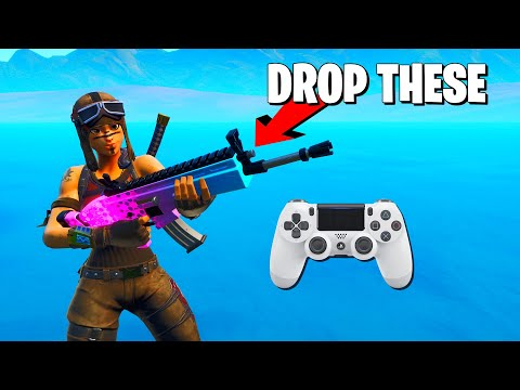 WHY I STOPPED CARRYING SCARS **Top Fortnite Controller Player**