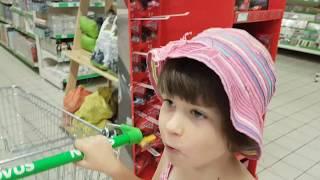 ИСТОРИЯ МАШИ - крокодил в магазине? Кукольный зоопарк, Покупки игрушек и котенок Макс РЕАКЦИЯ