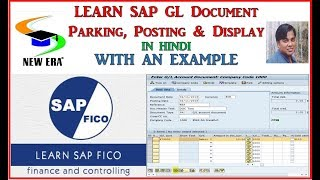 SAP-GL DOCUMENT PARK,POST & DISPLAY FB50 by Deepak Gupta