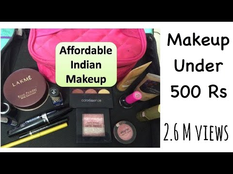 Makeup  under 500 Rs  -  indian affordable Makeup products | Each product Is under 500 rs