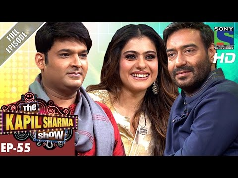 The Kapil Sharma Show - Ep.55–दी कपिल शर्मा शो–Ajay Devgan and Kajol Rock Kapil's Show–29th Oct 2016