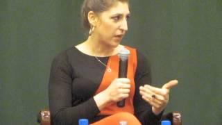 Mayim Bialik Q&A -- Barnes and Noble Tribeca 3/6/2012
