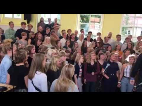 Ollerup Efterskole Students Sing Bohemian Rhapsody