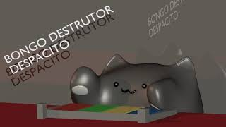 |BLENDER|BONGO CAT| DESTRUTOR IN DESPACITO MEME
