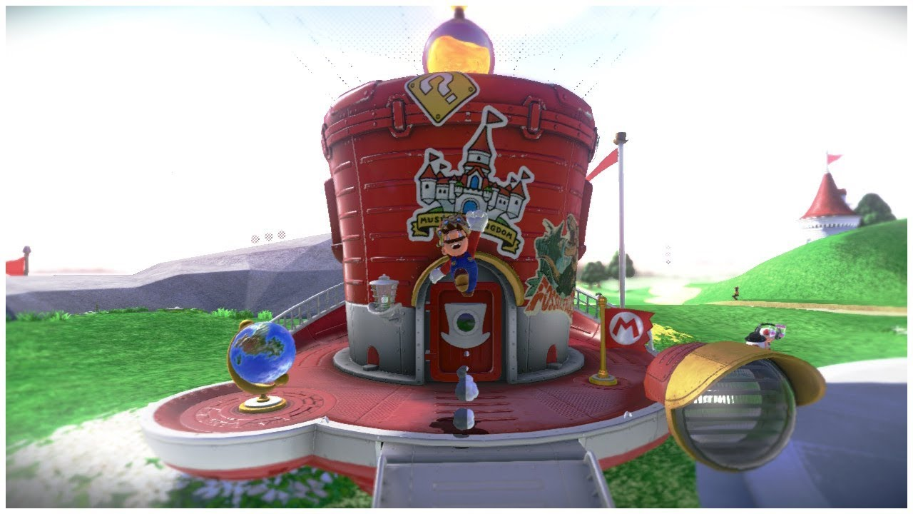 Atlernate Ways To Get Inside The Odyssey Ship Super Mario Odyssey