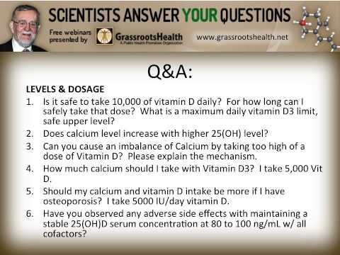 Dr. Robert Heaney - Interactions of Vitamin D and Calcium