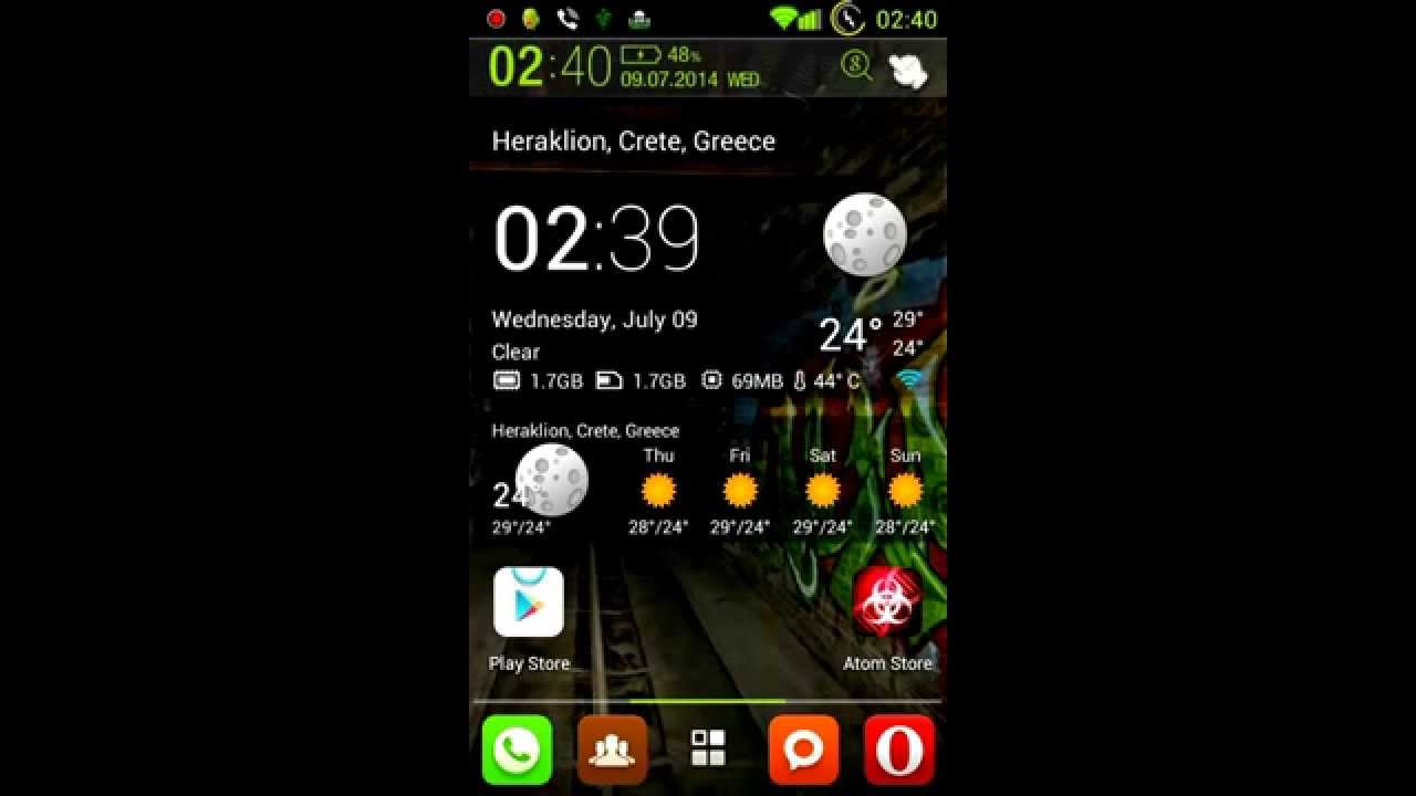 V975 or V975N Pure Green Jelly Dream Vodafone smart 3!
