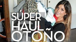 SÚPER MEGA HAUL OTOÑO | Zara, ASOS, H&M y más! | Trendy Taste