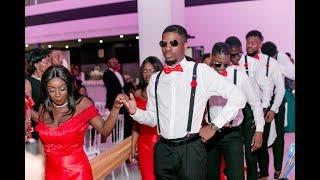 Entrée Dansante 2 - Chorégraphie Mariage congolais/camerounais 2018 - Fondatrice Cinaa Titi