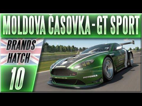 Aston Martin V12 Vantage GT | #10 | Moldova Časovka | Gran Turismo Sport CZ