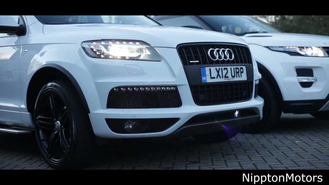Range Rover Evoque vs Audi Q7 - YouTube